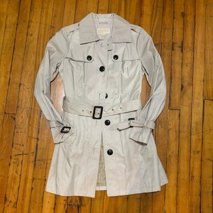 Michael Kors Belted Button Trench Coat Khaki, Tan
